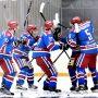 Новомосковские хоккеисты вновь хорошо показали себя в игре
